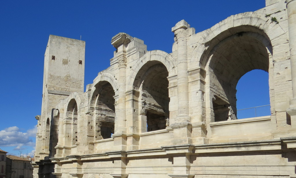 On the banks of the Rhone River,  Arles once was a fortified city and remains the gateway to France's Camargue region.