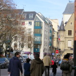The Marais is a busy, right bank quarter of Paris