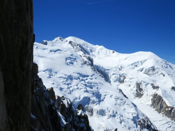 For an old guy, it's like time travel to the top of the world -- or more precisely the snow fields and glaciers of Mont Blanc, Europe's tallest mountain.