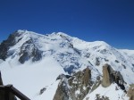 But in the end what matters is the mountain., Mont Blanc, and the alps as far as the eye can see.