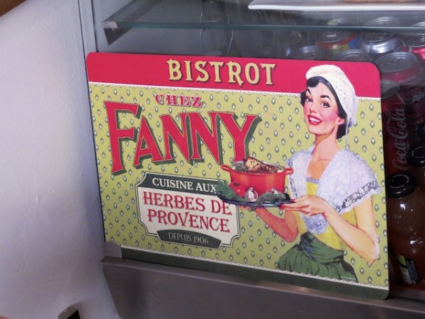 Signs sell a brand and an image (Aix-en-Provence).