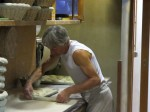 Baking bread (Aix)