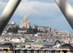 Sacre-Coeur, taken from the Pompidou msueum in Paris
