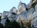 Rock formations above Fontaine-de-Vaucluse in the Luberon.