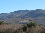 Driving the Luberon mountains in winter.