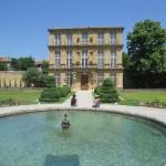 and the park and Pavillon de Vendome.