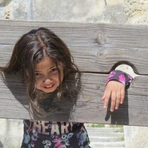 the stockade at Les Baux,