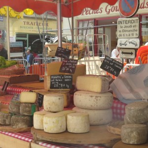 And don't forget the cheese. This IS France.
