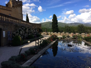 multiple time, with its view of the Luberon Mountains,