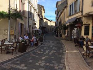 cobblestone streets, is